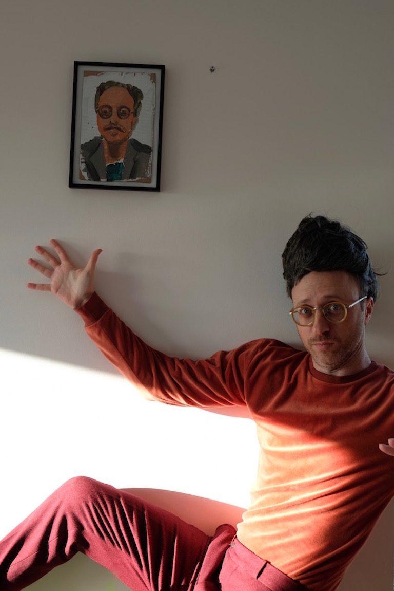 nimrod kamer with portrait