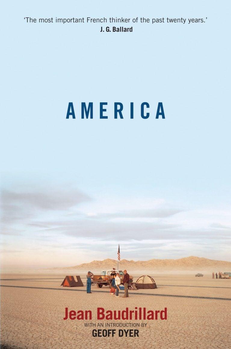 America Jean Baudrillard