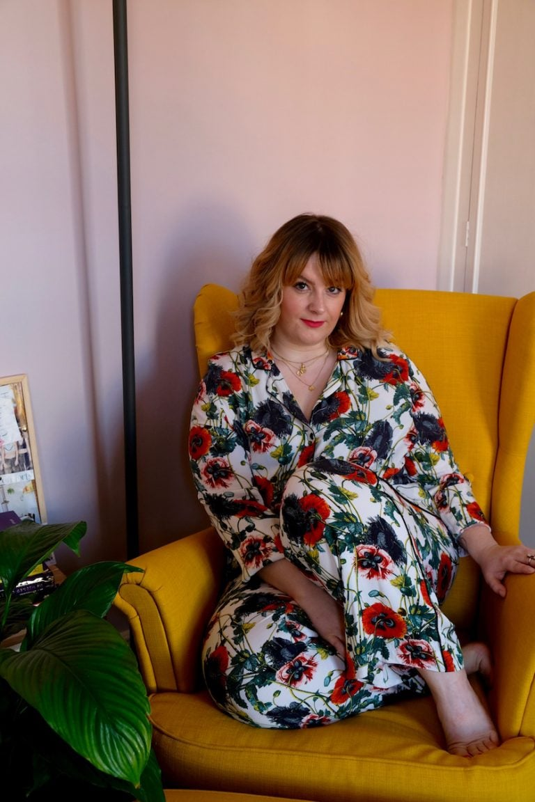 laura williams yellow chair