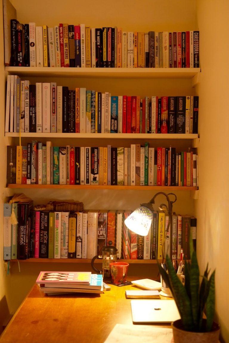 bookshelf hannah nathanson