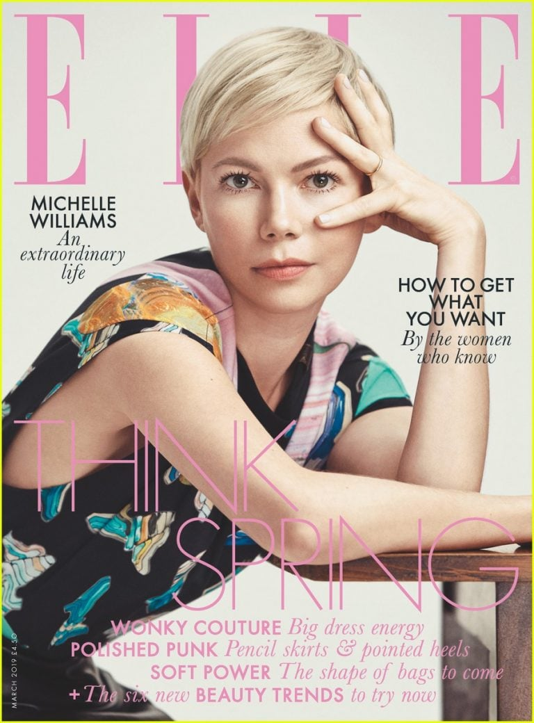 elle magazine michelle williams