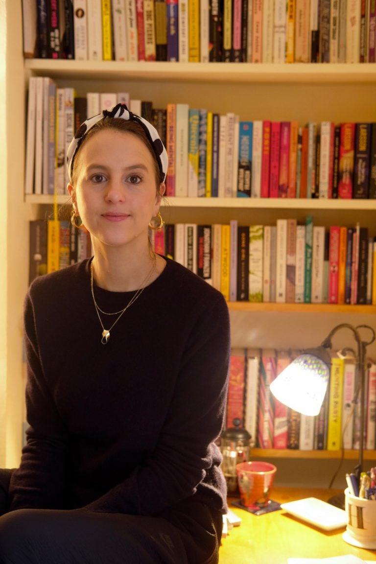 hannah nathanson bookshelves