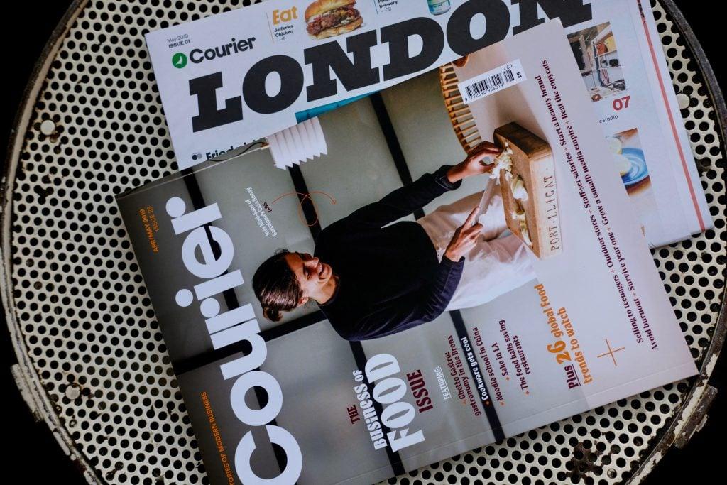 Courier Magazine London